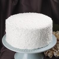 Elegant Cakery white coconut dessert cake