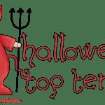 Halloween Top Ten ~ Scary Reads