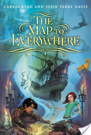 #Review ~ The Map to Everywhere by Carrie Ryan