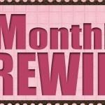 Monthly Rewind ~ March
