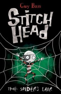 #Review ~ The Spiders Lair (Stitch Head #4) by Guy Bass