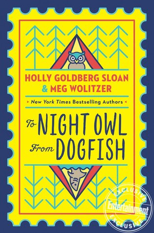 To Night Owl from Dogfish Blog Tour! Come see my chat with the authors!