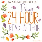 I am in for as long as I can. 24 Hour #readathon