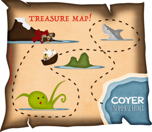 Treasure Hunt Map