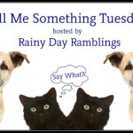Tell Me Something Tuesday: Good Reading Habits