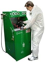 E800 Automatic Spray Gun Cleaner