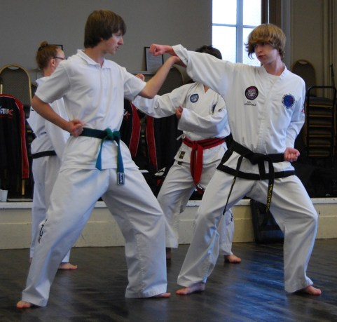 beccles-taekwondo-demo48
