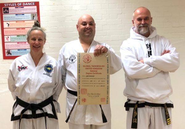 Great black belt spirit moments for instructors too!