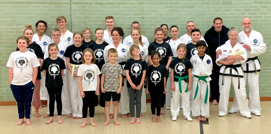 Beccles Taekwondo Thursday class - 1