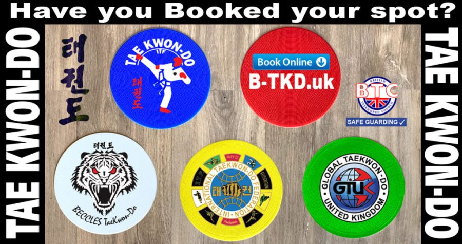 We have 2 more Zoom sessions then...Beccles Taekwon-do Classes are BACK in the Dojang!