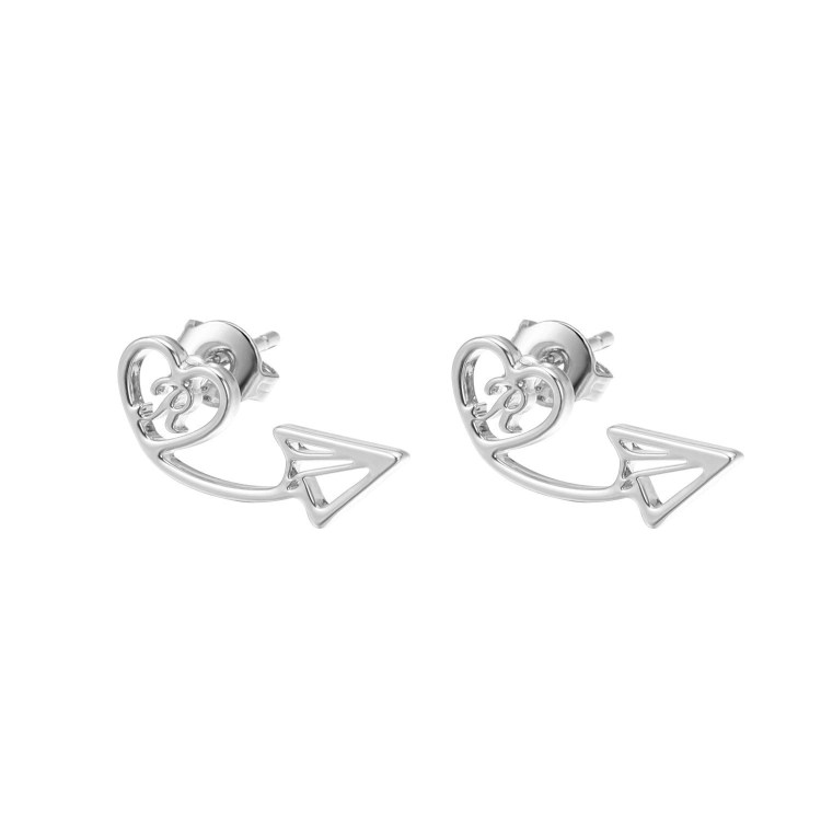 Nice Simple Single Letter Personalized Earrings For Ladies Beceff Best Quality Jewelry