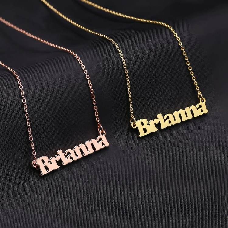 Personalized Custom My Name Necklace For Women Super Quality Name Necklace