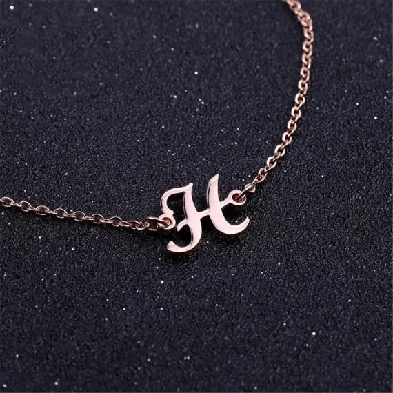 Single Letter Custom Fancy Personalized Jewelry For Women Regular Day Jewelry Wear For Ladies