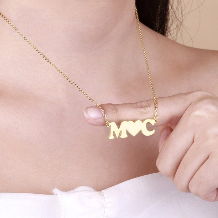 personalized couple initial letters necklace with heart.jpg