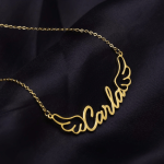 Gold Silver Rose Gold Custom Made Name Necklace Women's Name Necklace
