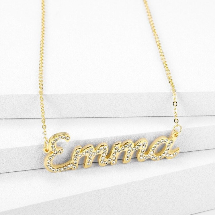 High Quality My Name Necklace For Bling Name Jewelry Lovers