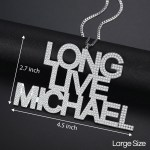 long live custom personalized multiple 3 lines massive large size iced out name necklace