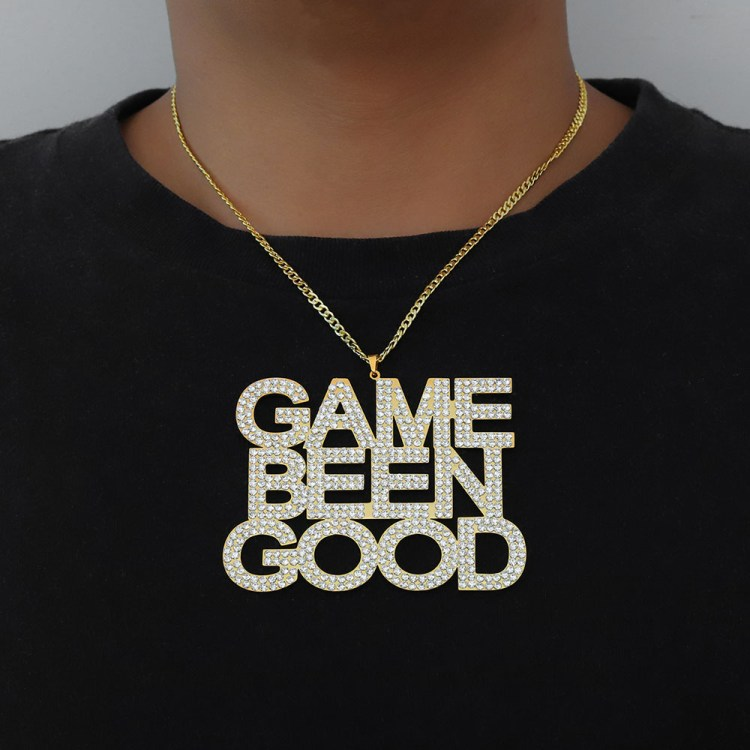 black american hip hop fashion jewelry iced out massive large huge size custom pendant name text personalized necklace pendant nameplate