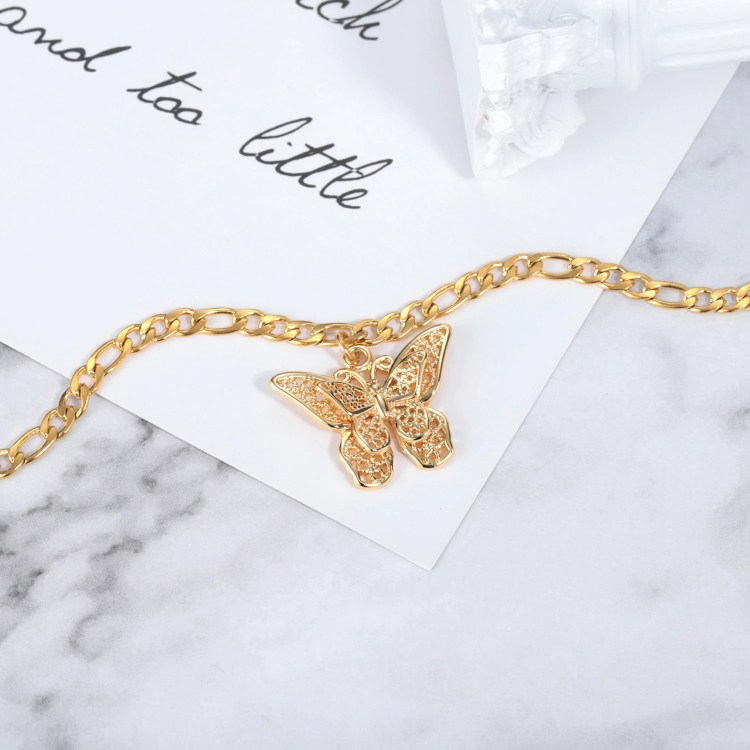 butterfly anklet bracelet design