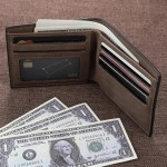 picture photo custom personalized wallet for men