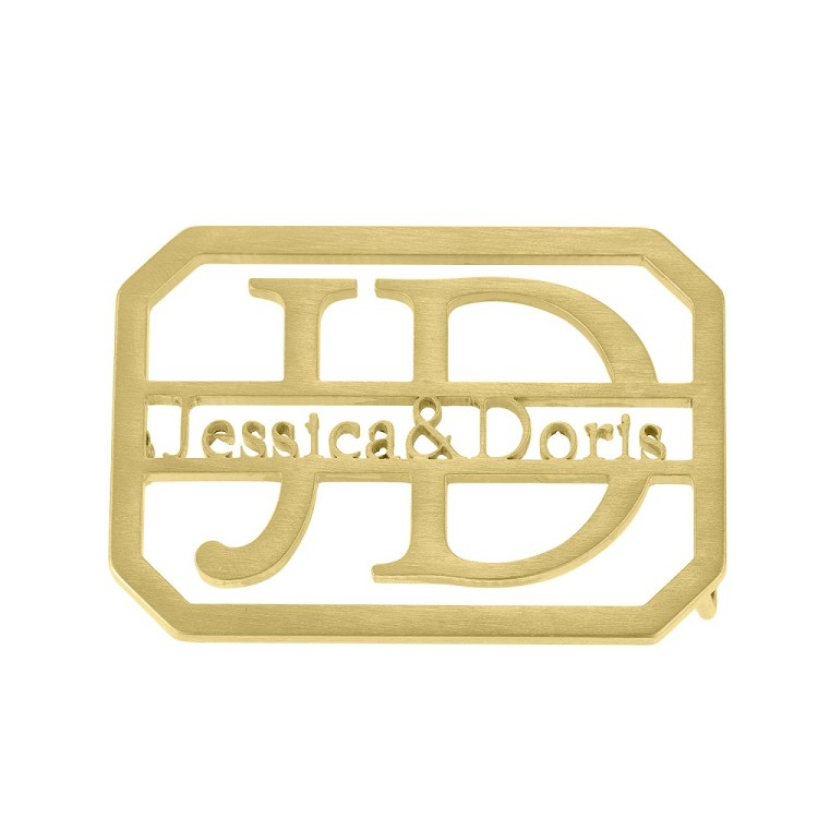 Gold Color Plated Custom Made High Quality Waist Belt Buckle Designs For Men And Women Luxury Looking Handy Personalized Casual Waist Belt Buckles