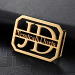 Gold Silver Rose Gold Color Plated Custom Made To Order Waist Belt Buckles Beceff Personalized Accessory Piece For Men And Women High Quality Unisex Waist Belt Buckles