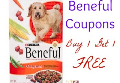 Beneful Dog Food Coupon Buy One Get One Free