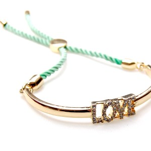 Bangle Love groen