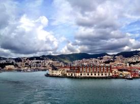 Genueser Hafen