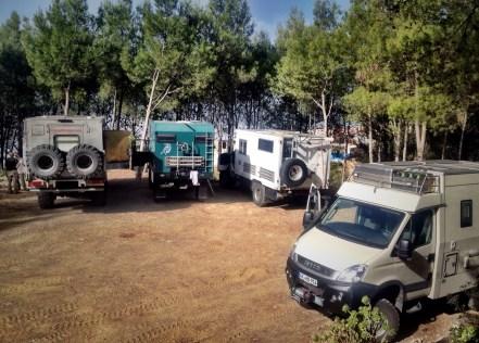 Campingplatz in Chefchaouen
