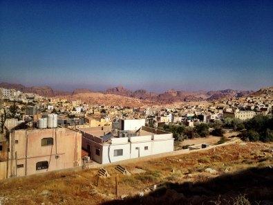 Wadi Musa bei Tag