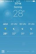 Eilat! 30 Grad um Mitternacht!