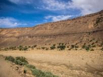 Geröllwüste auf dem Weg in die Sandwüste