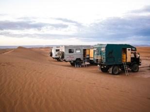 Übernachtung in der Wüste