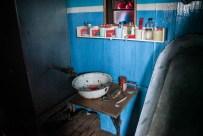 Port Lockroy-Museum: Waschschüssel und Wanne