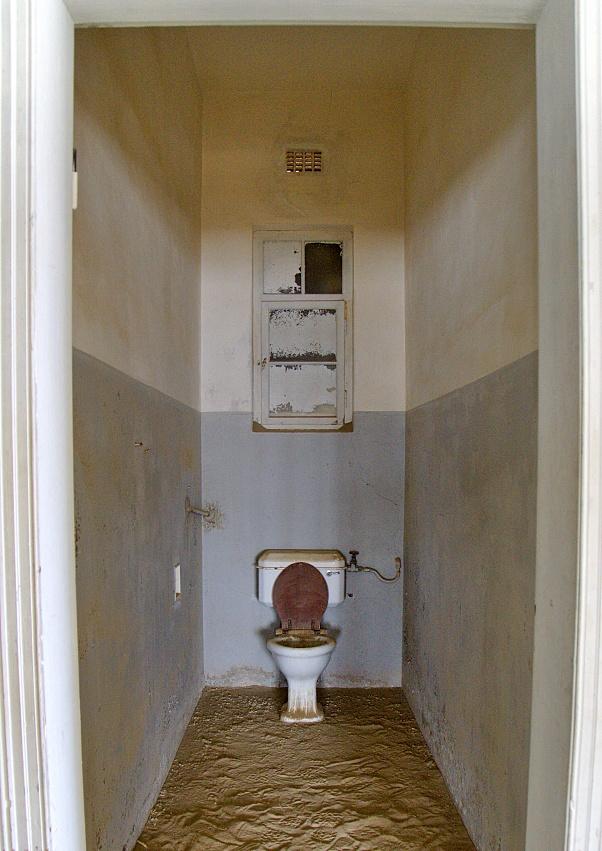 Krankenhaus-Toilette in Kolmanskuppe