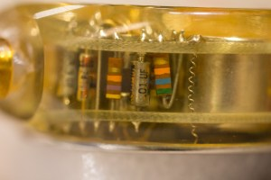 Detail image of pacemaker.