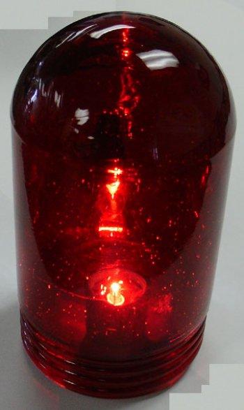 Vaporproof Glass Globe 6 Quot Red 602