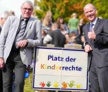 Ein schöner Moment für Michael Thiesen und mich, Bildquelle: Kinderschutzbund Höhr-Grenzhausen - Joachim Türk