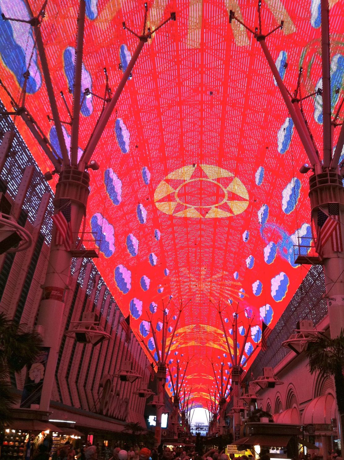The Fremont Street Experience Fse Is A Pedestrian Mall And Attraction In Downtown Las Vegas Nevada Occupies Westernmost 5 Blocks Of