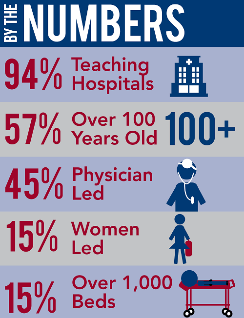 great hospitals LP infographic