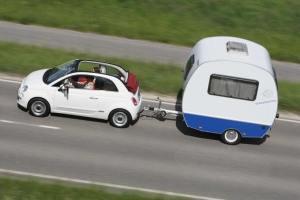 fiat and trailer