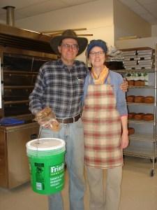 Farmer Doug Mosel & Rhonda