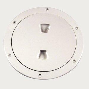 "Beckson 6"" white access plate"