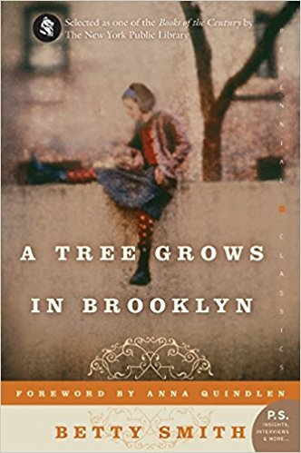 A Tree Grows in Brooklyn by Betty Smith (cover)