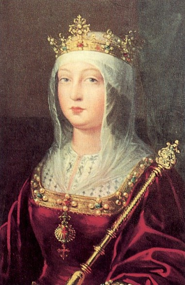 Isabella of Castile - my character at the Popes, Poison & Perfidy Megagame