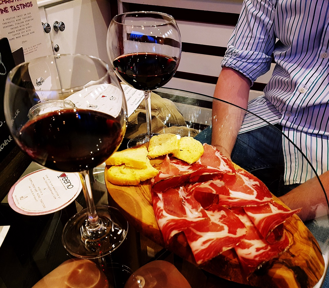 Capocollo for Aperitalia at Veeno Leeds - Restaurant Review by BeckyBecky Blogs