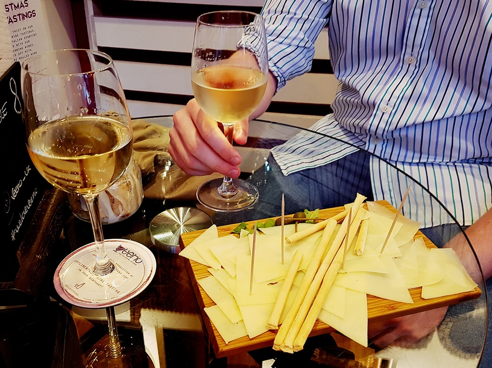 Provolone piccante for Aperitalia at Veeno Leeds - Restaurant Review by BeckyBecky Blogs
