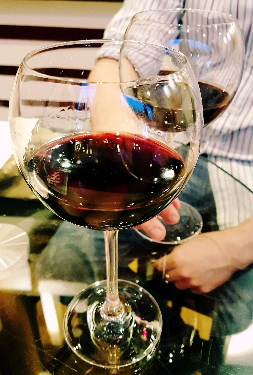 San Lorenzo red wine for Aperitalia at Veeno Leeds - Restaurant Review by BeckyBecky Blogs