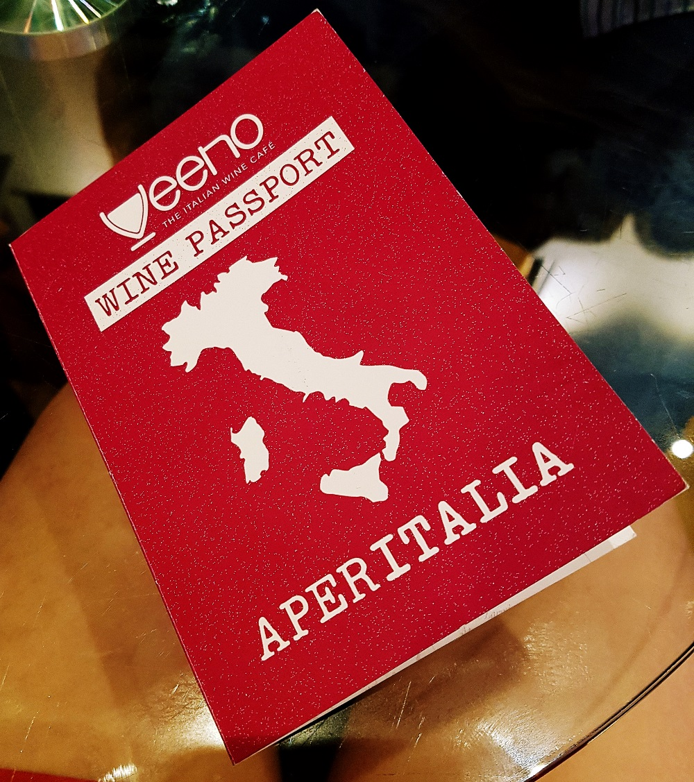 Wine Passport for Aperitalia at Veeno Leeds - Restaurant Review by BeckyBecky Blogs